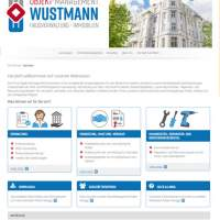 Webseiten Firma Objekt-Management Wustmann in Pirna